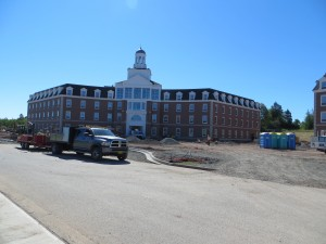 New residence at St. FX University (Antigonish, NS).
